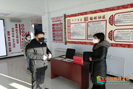 锡林郭勒职业学院协助包联社区开展疫情防控工作