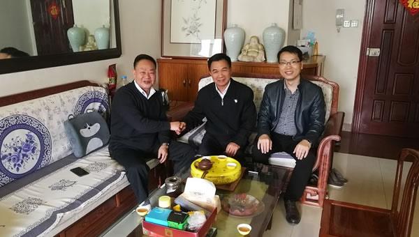 广东建设职业技术学院领导春节前夕看望慰问老同志和困难职工