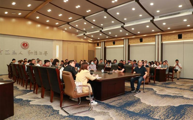 嘉兴南湖学院党委副书记郭坚刚作党史学习教育专题报告