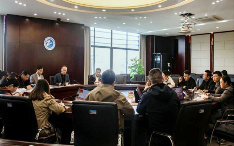 南京理工大学泰州科技学院召开2021年共青团和学生会组织改革迎评工作布置会